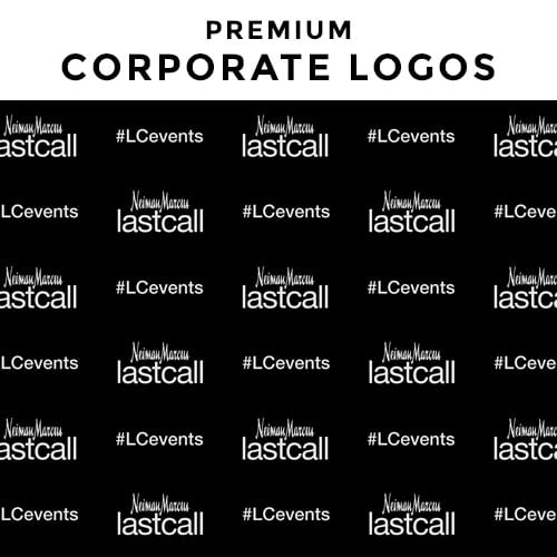 corporate logo backdrop