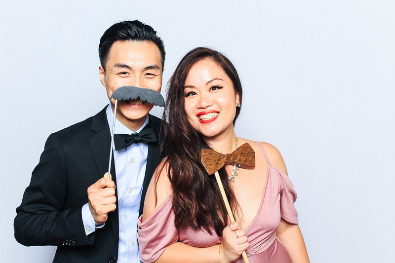 coconut grove wedding photo booth