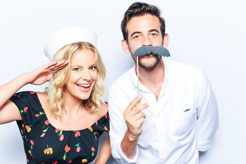 miami baby shower photo booth