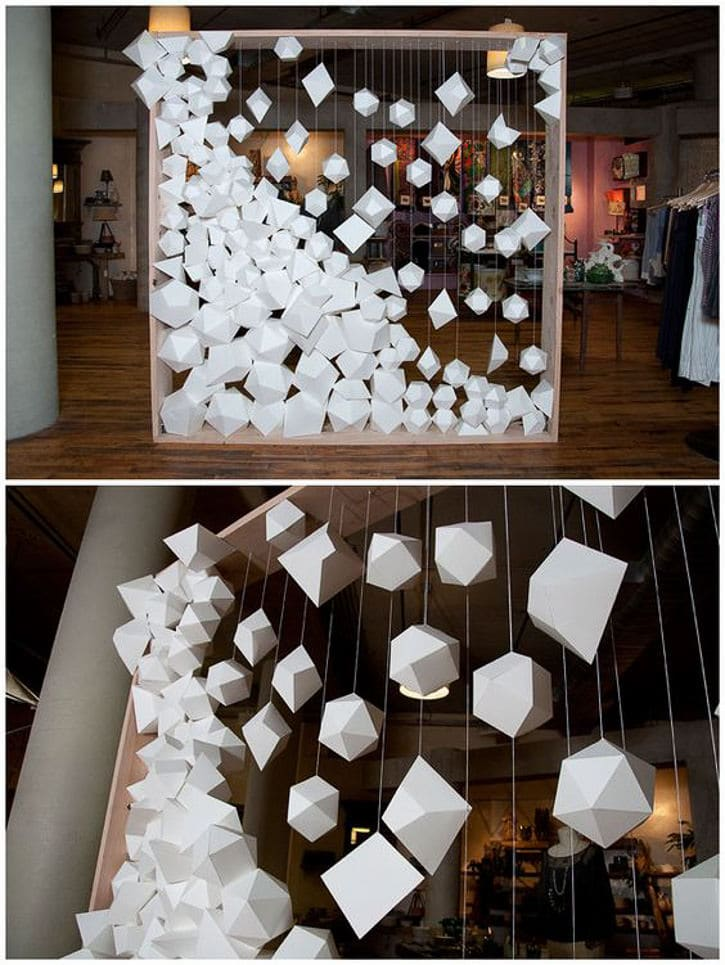 ... Hanging Geometric Shapes · Diy Photo Booth ...