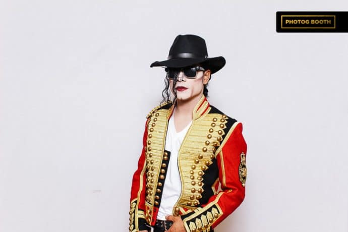michael jackson photo booth